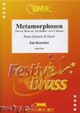 Okładka: Koetsier Jan, Metamorphosen für Brass Quintett und Harfe