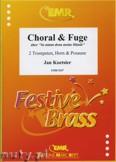 Okładka: Koetsier Jan, Choral & Fuge (So nimm denn meine.) - BRASS ENSAMBLE