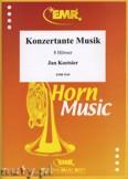 Okładka: Koetsier Jan, Konzertante Musik Op. 78 für 8 Hörner