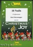 Okładka: Sturzenegger Kurt, 10 Noëls - Euphonium