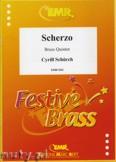 Okładka: Schürch Cyrill, Scherzo - BRASS ENSAMBLE