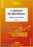 Ok�adka: Grunelius Wilhelm Von, 1. Quintett f�r Blechbl�ser - BRASS ENSAMBLE