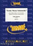 Okładka: Debons Eddy, Petite Messe solennelle pour choeur mixte, voix de jeunes, qutuor de cuivres et percussion