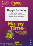 Ok�adka: Mortimer John Glenesk, Happy Birthday for Clarinet and Trumpet