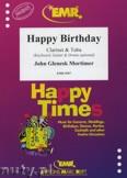 Okładka: Mortimer John Glenesk, Happy Birthday for Clarinet and Tuba