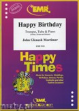 Okładka: Mortimer John Glenesk, Happy Birthday for Trumpet and Tuba