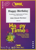Okładka: Mortimer John Glenesk, Happy Birthday for Trombone and Euphonium