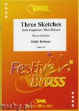 Okładka: Debons Eddy, Three Sketches - BRASS ENSAMBLE