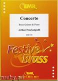 Ok�adka: Frackenpohl Arthur, Concerto - BRASS ENSAMBLE