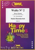 Okładka: Szostakowicz Dymitr, Waltz N° 2 - BRASS ENSAMBLE