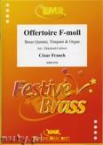 Okładka: Franck César, Offertoire F-moll - BRASS ENSAMBLE