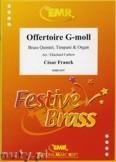 Okładka: Franck César, Offertoire G-moll - BRASS ENSAMBLE