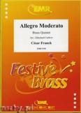 Okładka: Franck César, Allegro Moderato - BRASS ENSAMBLE