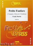 Ok�adka: Martin Frank, Petite Fanfare for 2 Trumpets, 2 Horns and 2 Trombones