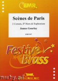 Okładka: Gourlay James, Scenes de Paris - BRASS ENSAMBLE
