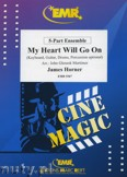 Okładka: Horner James, My Heart Will Go On (Titanic) - BRASS ENSAMBLE