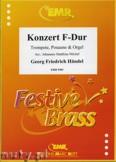 Ok�adka: H�ndel George Friedrich, Konzert F-Dur f�r Trompete, Posaune und Orgel