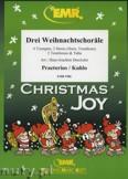 Okładka: Praetorius Michael, Kuhlo Johannes, Drei Weihnachtschoräle