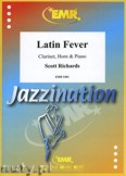 Okładka: Richards Scott, Latin Fever for Clarinet, Horn and Piano