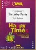 Okładka: Richards Scott, Birthday Party - BRASS ENSAMBLE