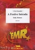 Okładka: Debons Eddy, A Festive Intrada - BRASS ENSAMBLE