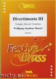 Okładka: Mozart Wolfgang Amadeusz, Divertimento III - BRASS ENSAMBLE
