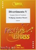 Okładka: Mozart Wolfgang Amadeusz, Divertimento V - BRASS ENSAMBLE