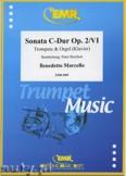 Okładka: Marcello Benedetto, Sonata C-Dur Op. 2/VI  - Trumpet