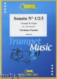 Ok�adka: Fantini Girolamo, Sonata N� 1/2/3 - Trumpet