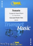 Okładka: Cima Giovanni P., Sonata - Trumpet