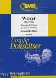 Okładka: Gliere Reinhold, Waltz  - Trumpet