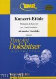 Okładka: Goedicke Alexander, Konzert-Etüde - Trumpet