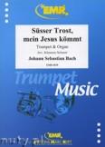 Okładka: Bach Johann Sebastian, Süsser Trost, Mein Jesus kömmt - Trumpet