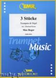 Ok�adka: Reger Max, 3 St�cke - Trumpet