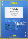 Okładka: Reger Max, 3 Stücke - Trumpet