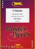 Ok�adka: Reger Max, 3 St�cke - CLARINET