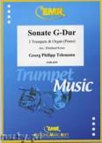 Okładka: Telemann Georg Philipp, Sonate G-Dur - Trumpet