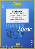 Ok�adka: Bach Johann Sebastian, Sinfonia in D Major BWV 29/1 for 3 Trumpets, Timpani and Organ