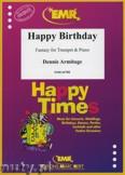 Okładka: Armitage Dennis, Happy Birthday - Trumpet