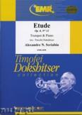Ok�adka: Scriabin Aleksander, Etude Op. 8 N� 12 - Trumpet