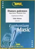 Okładka: Debons Eddy, Danses paiennes - Euphonium