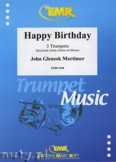 Okładka: Mortimer John Glenesk, Happy Birthday - Trumpet