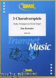 Ok�adka: Koetsier Jan, Drei Choralvorspiele (Trompete in D) - Trumpet