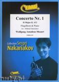 Okładka: Mozart Wolfgang Amadeusz, Concerto Nr. 1 in D Major (K. 412)