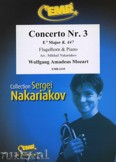 Okładka: Mozart Wolfgang Amadeusz, Concerto Nr. 3 in Eb Major (K. 447)