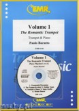 Okładka: Baratto Paolo, Volume 1, The Romantic Trumpet + CD - Trumpet