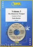 Ok�adka: Baratto Paolo, Volume 3, The Humorous Trumpet + CD - Trumpet
