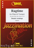 Ok�adka: Armitage Dennis, Ragtime for Flute and Trumpet