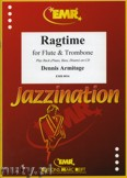 Ok�adka: Armitage Dennis, Ragtime for Flute and Trombone