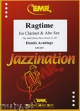 Ok�adka: Armitage Dennis, Ragtime for Clarinet and Alto Sax